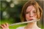 teen flute player