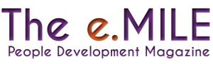 The e. mile logo