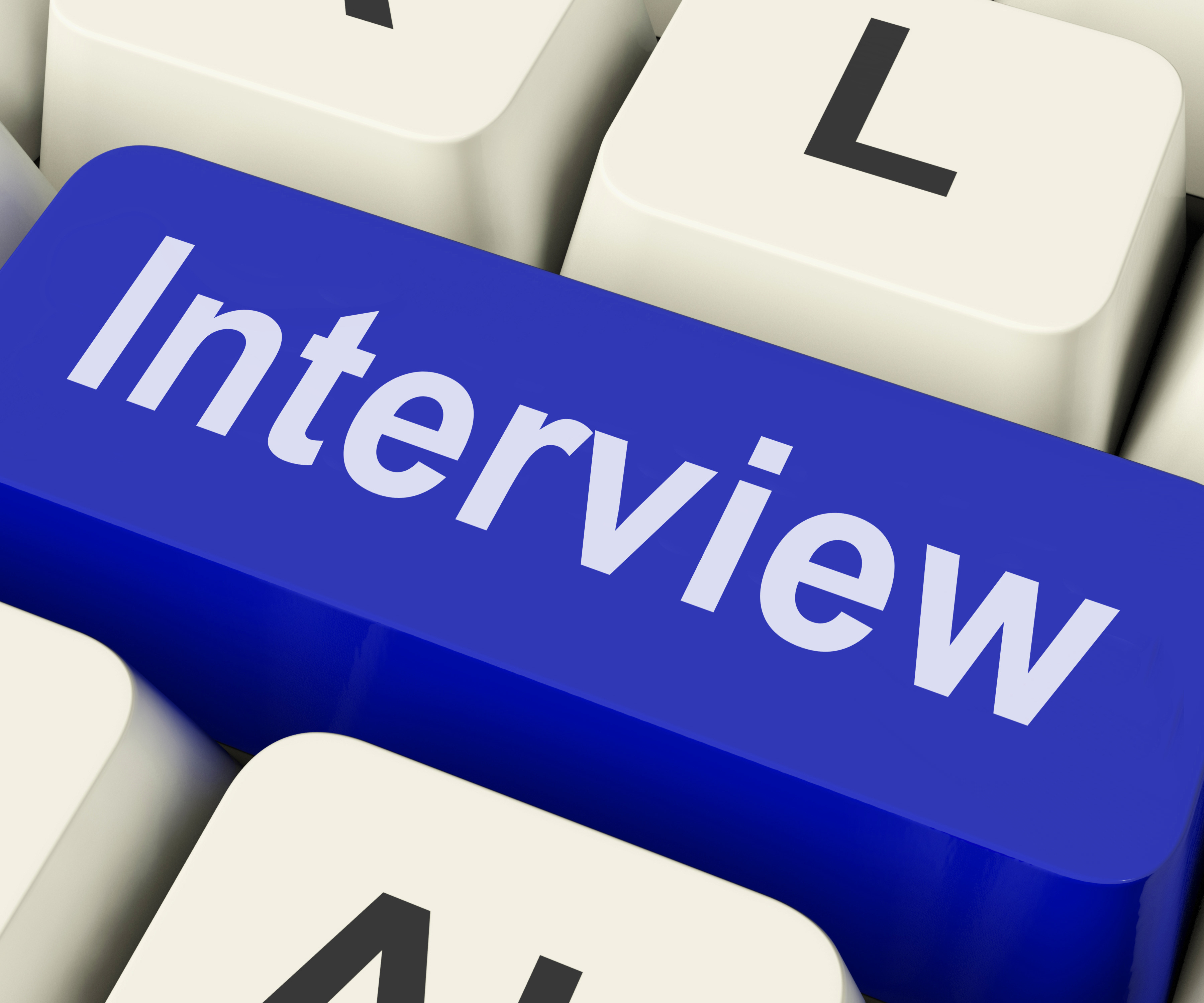Interview Key Shows Interviewing Interviews Or Interviewer